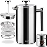 Mueller French Press Double Insulated 304...