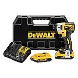 DEWALT 20V MAX XR Impact Driver Kit, Brushless,...