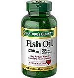 Nature's Bounty Fish Oil, 1200mg, 360mcg of...