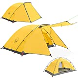 KAZOO 2 Person Camping Tent Outdoor Waterproof...