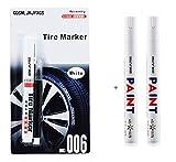 White tire marker and black Correction pen set...
