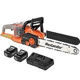 MAXLANDER 40V Cordless Brushless Chainsaw 16 Inch...