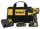 DEWALT ATOMIC 20V MAX Hammer Drill, Cordless,...
