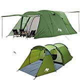 AYAMAYA 6 Person Tent and Camping Tunnel Tent