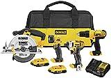 DEWALT 20V MAX Cordless Drill Combo Kit , 4-Tool...