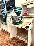 Wood Technology Kitchen Appliance Lift, White,...