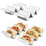 Taco Holders 4 Packs - Stainless Steel Taco Stand...