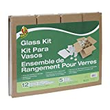 Duck Brand Glass Kit, 5 Corrugate Dividers with 12...