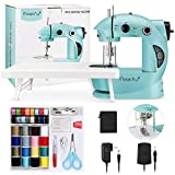 Magicfly Mini Sewing Machine with Extension Table,...