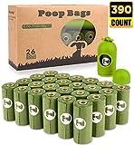 BOTEWO Dog Poop Bag 26 Rolls (390 Counts),...