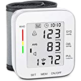 MMIZOO Blood Pressure Monitor Large LCD Display &...