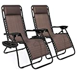 Best Choice Products Set of 2 Adjustable Steel...