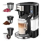 Sboly 6 In 1 Coffee Machine, Single Serve Coffee,...