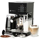 Espresso Machine, Latte & Cappuccino Maker- 10 pc...
