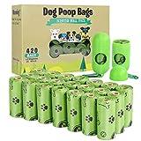 TVOOD Dog Poop Bags(420 Count), Biodegradable Poop...