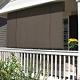 Patio Paradise Roll up Shades Roller Shade 8'Wx6'H...