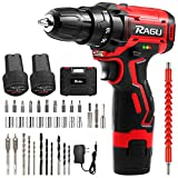 Cordless Drill Driver Kit 12.6V, Power Drill with...