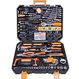 CARTMAN Tool Set 168Pcs Orange General Household...
