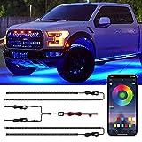CT CAPETRONIX Exterior Car LED Light, RGB Car...