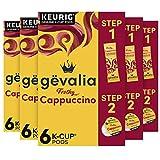 Gevalia Frothy 2-Step Cappuccino Espresso K‐Cup...