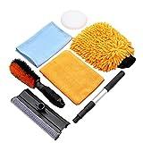 SCRUBIT Car Cleaning Kit 6 PC Detailing Car Wash...