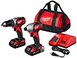 MILWAUKEE'S 2691-22 18-Volt Compact Drill and...