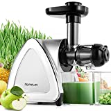 Slow Masticating Juicer Extractor, Homever Cold...