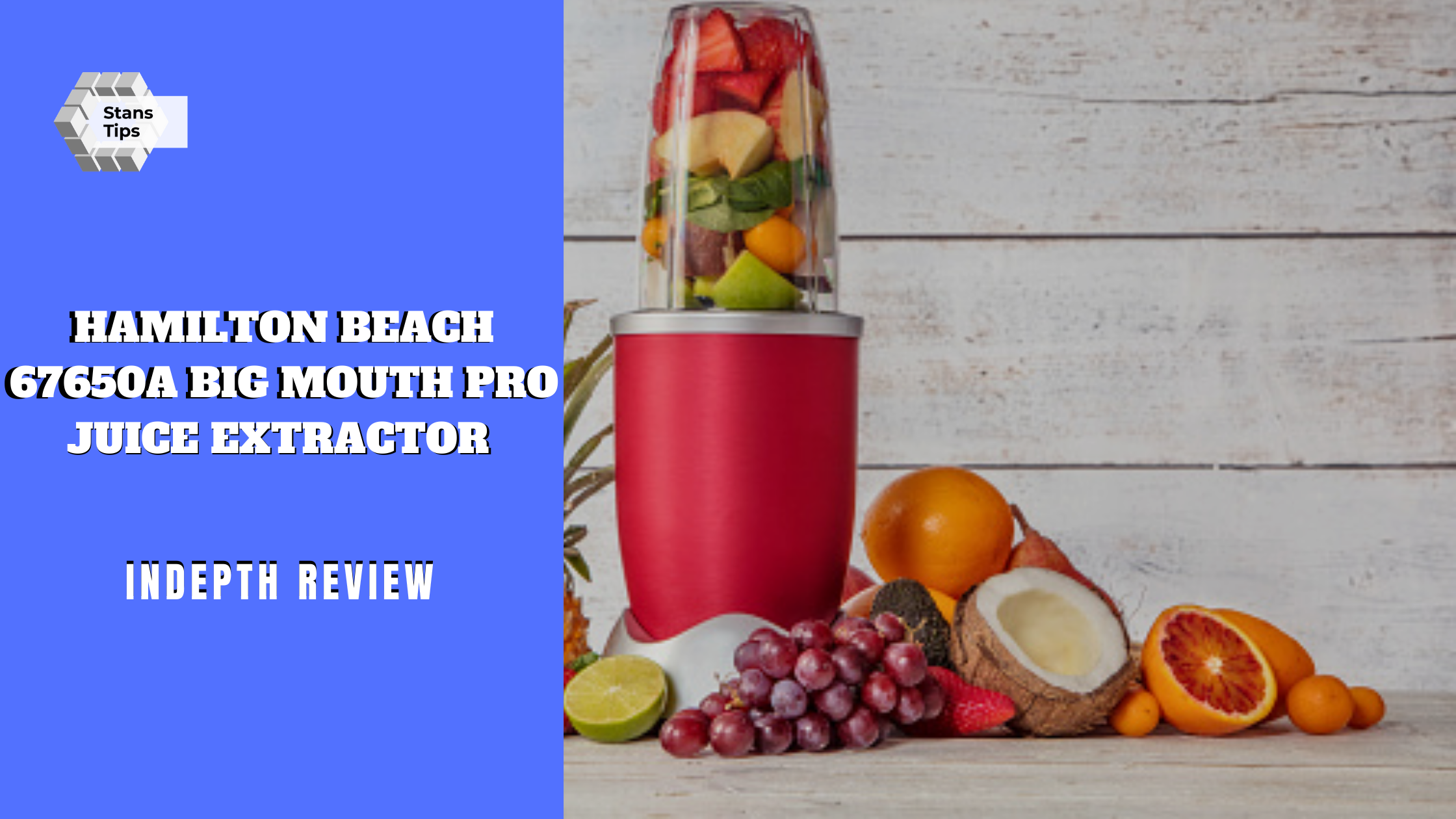 Hamilton beach 67650a big mouth pro juice extractor review