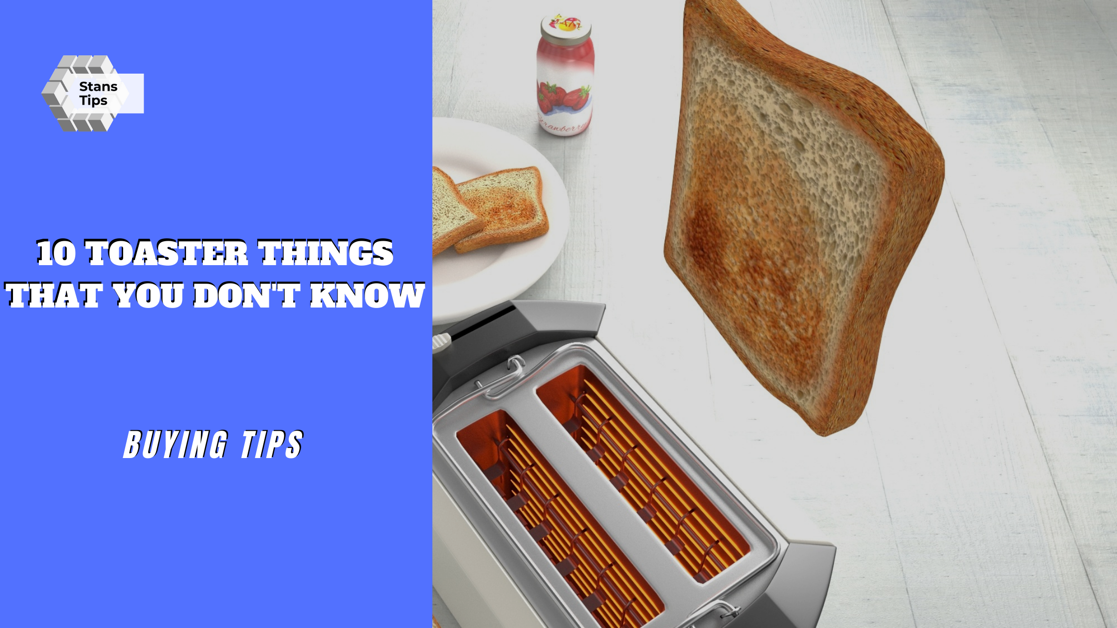 Toaster buying tips