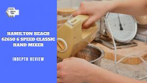 Hamilton beach 62650 6 speed classic hand mixer