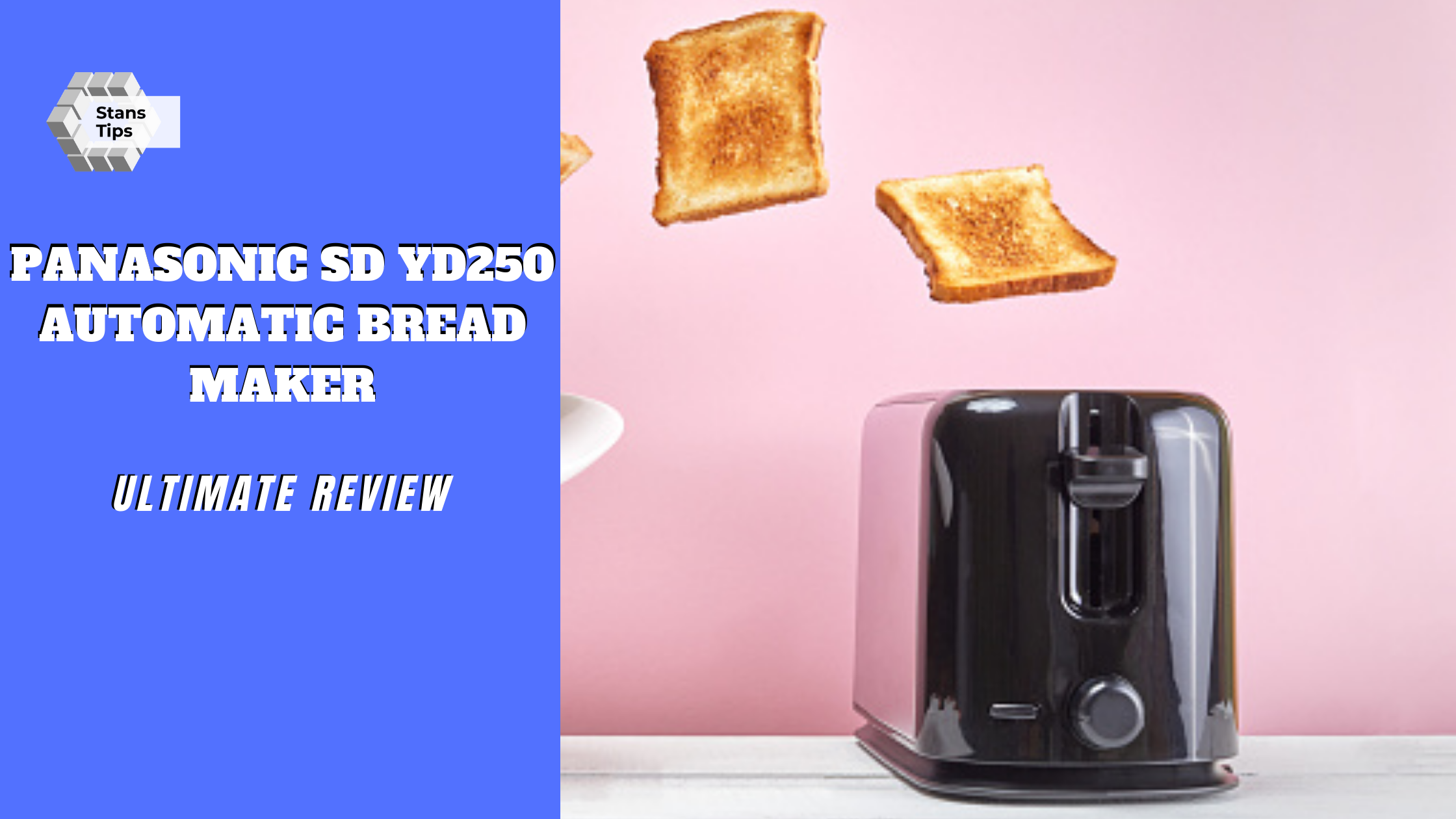Panasonic sd yd250 automatic bread maker review in 2021