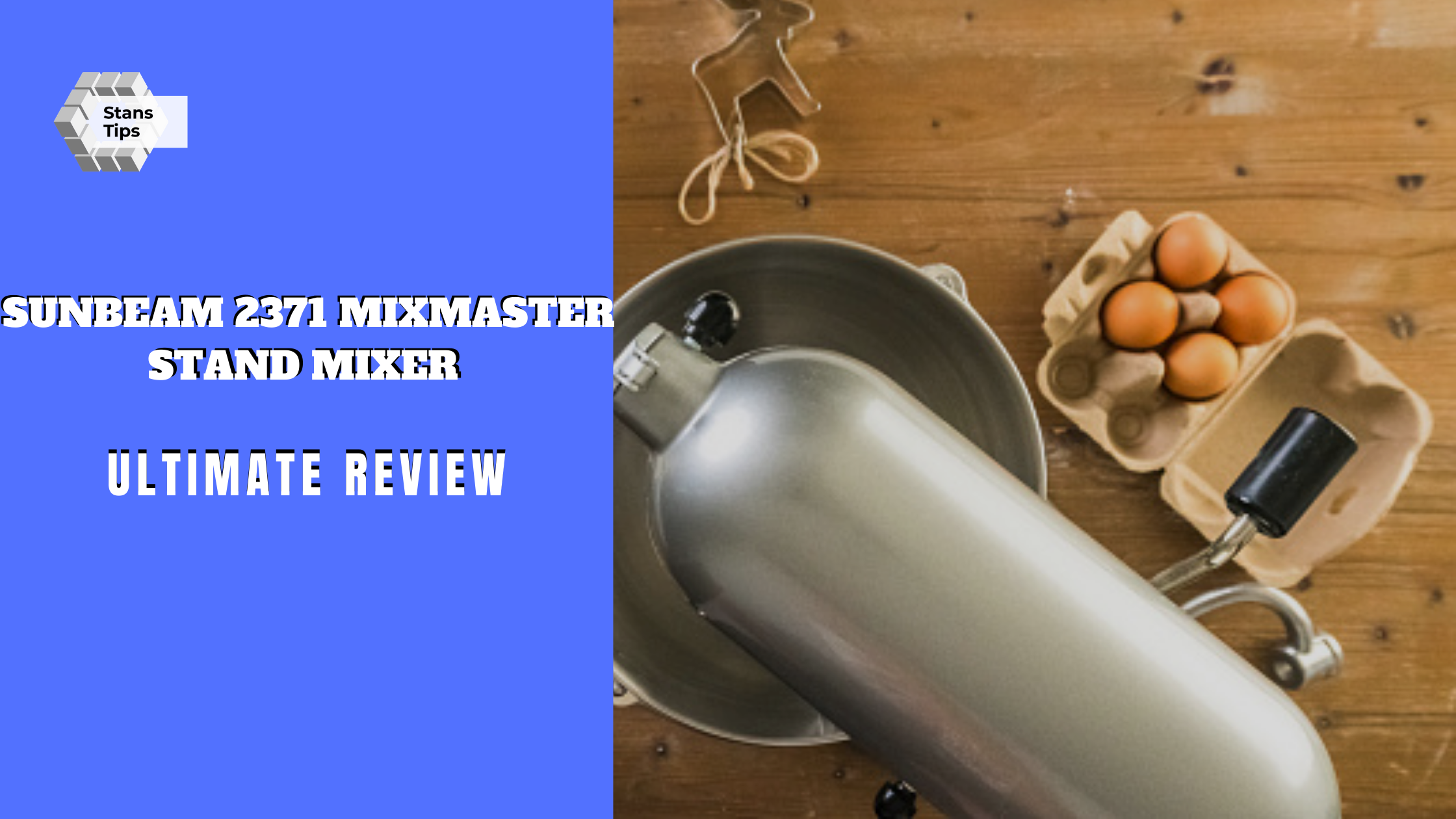 Sunbeam 2371 mixmaster stand mixer review