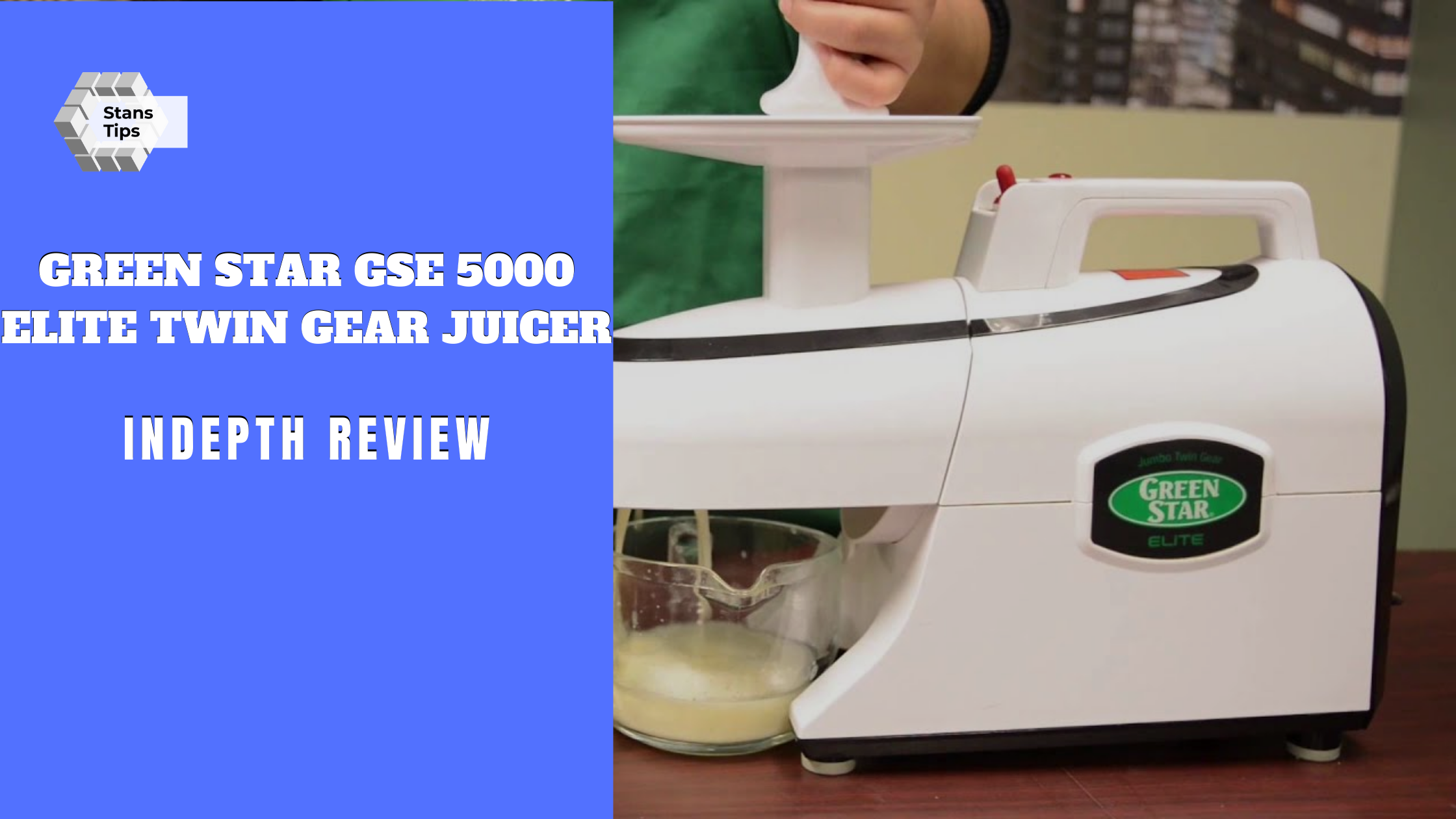 Green star gse 5000 elite twin gear juicer review