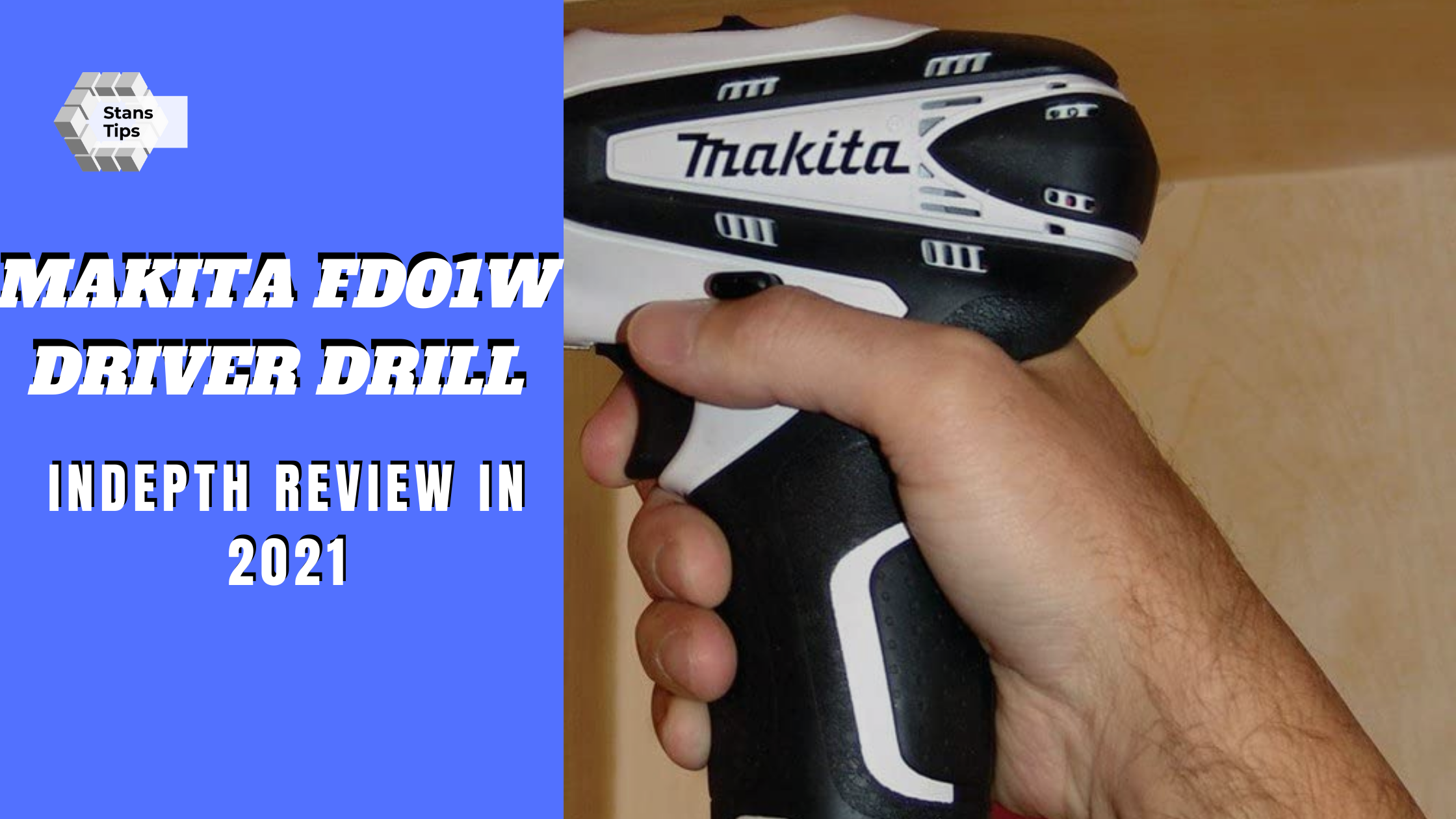 Makita fd01w driver drill review 1