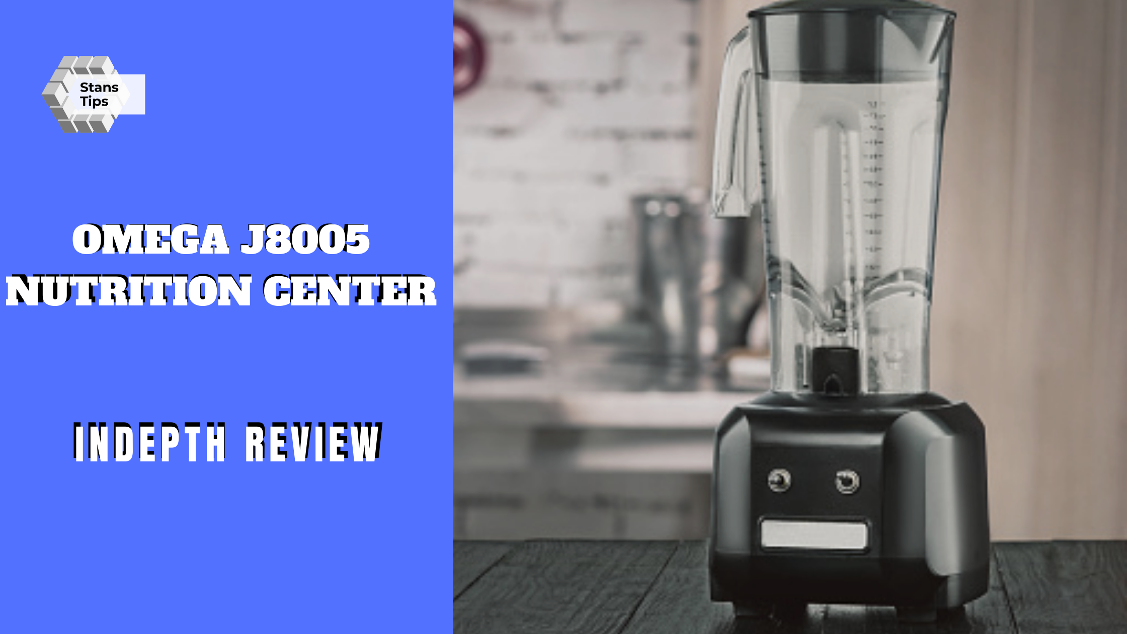 Omega j8005 nutrition center review
