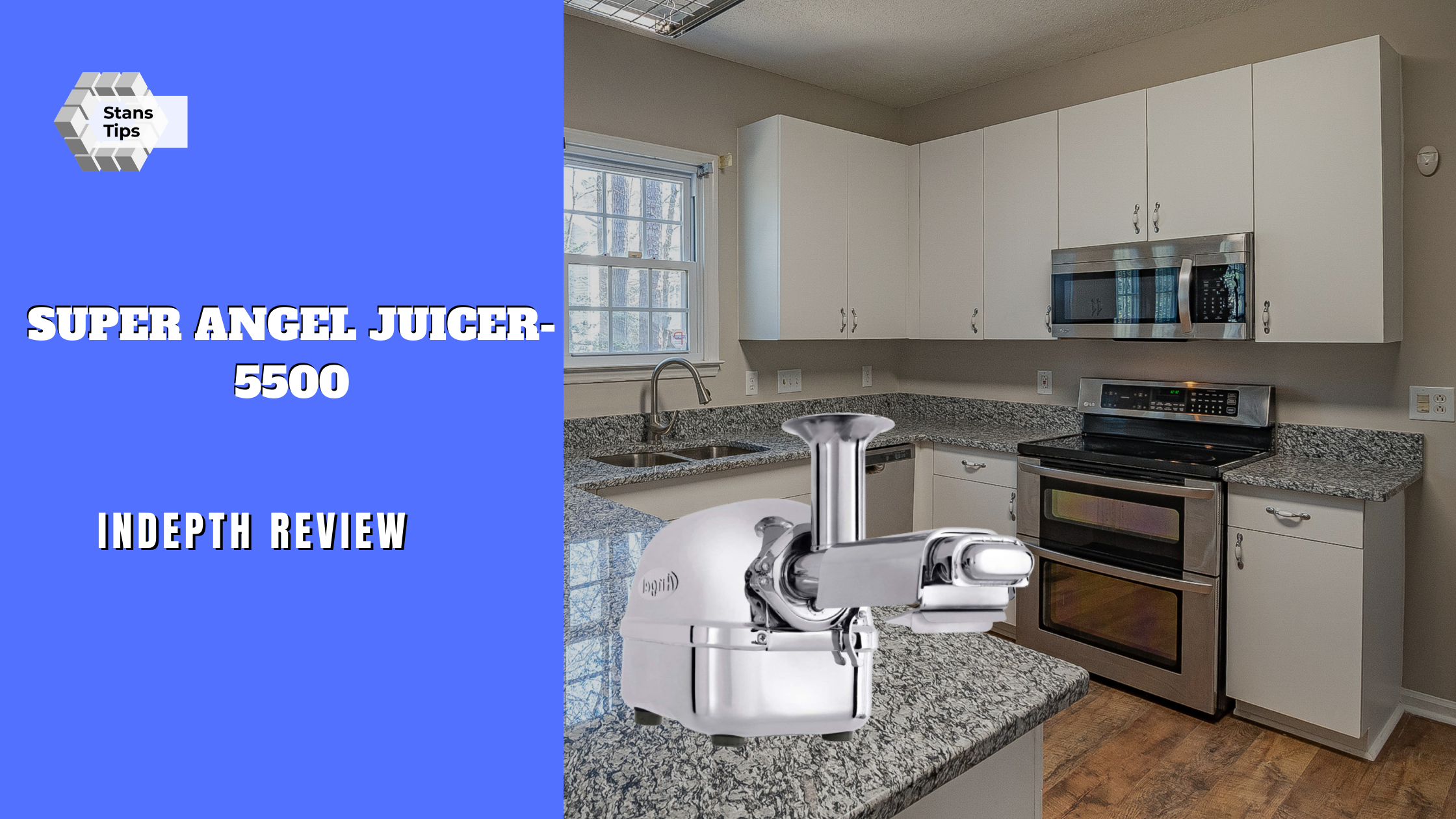Super Angel 5500 All Stainless Steel Twin gear Juicer Review