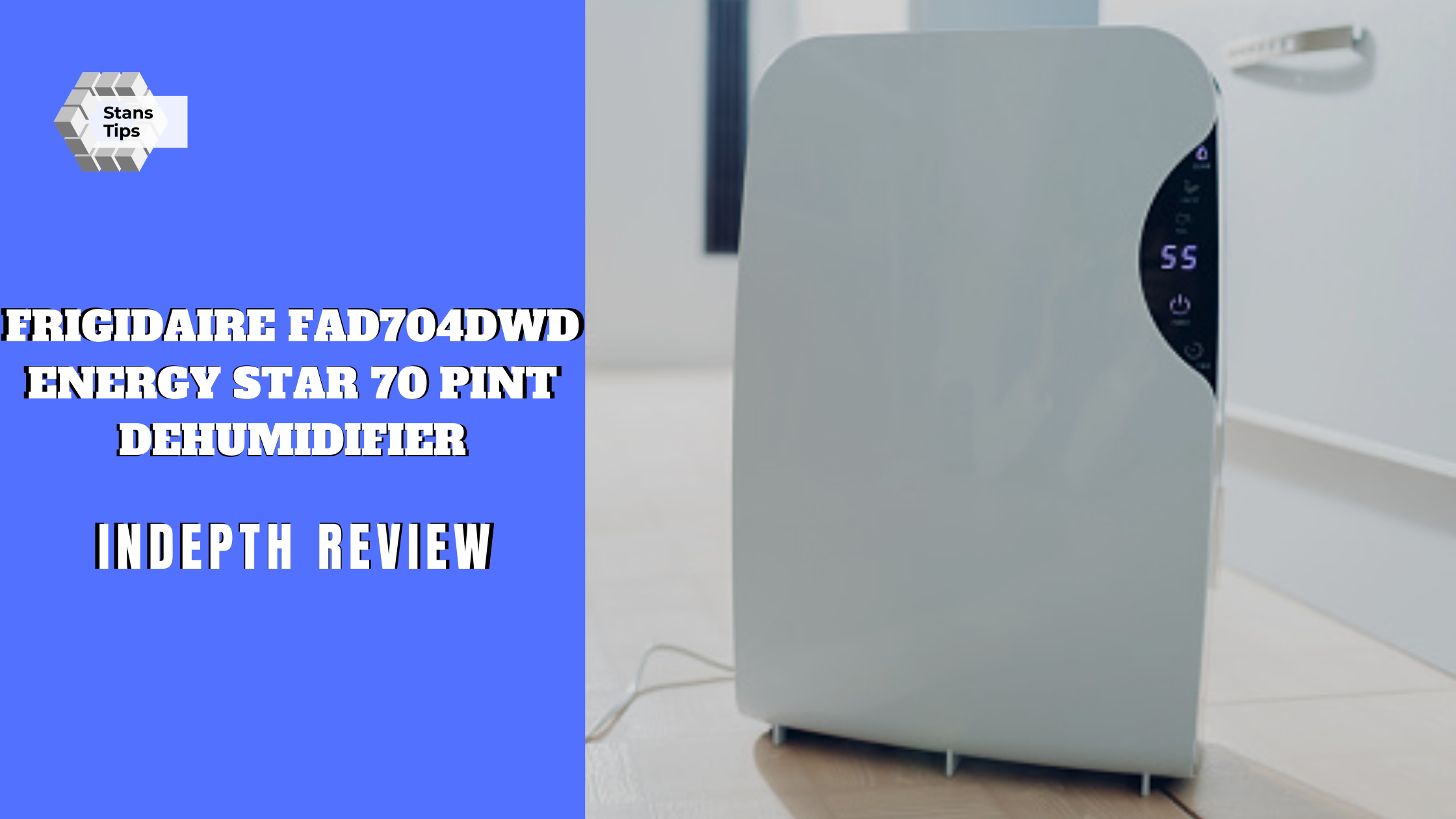 Frigidaire fad704dwd energy star 70 pint dehumidifier review