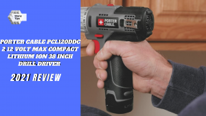 Porter cable pcl120ddc 2 12 volt max compact lithium ion 38 inch drill driver review