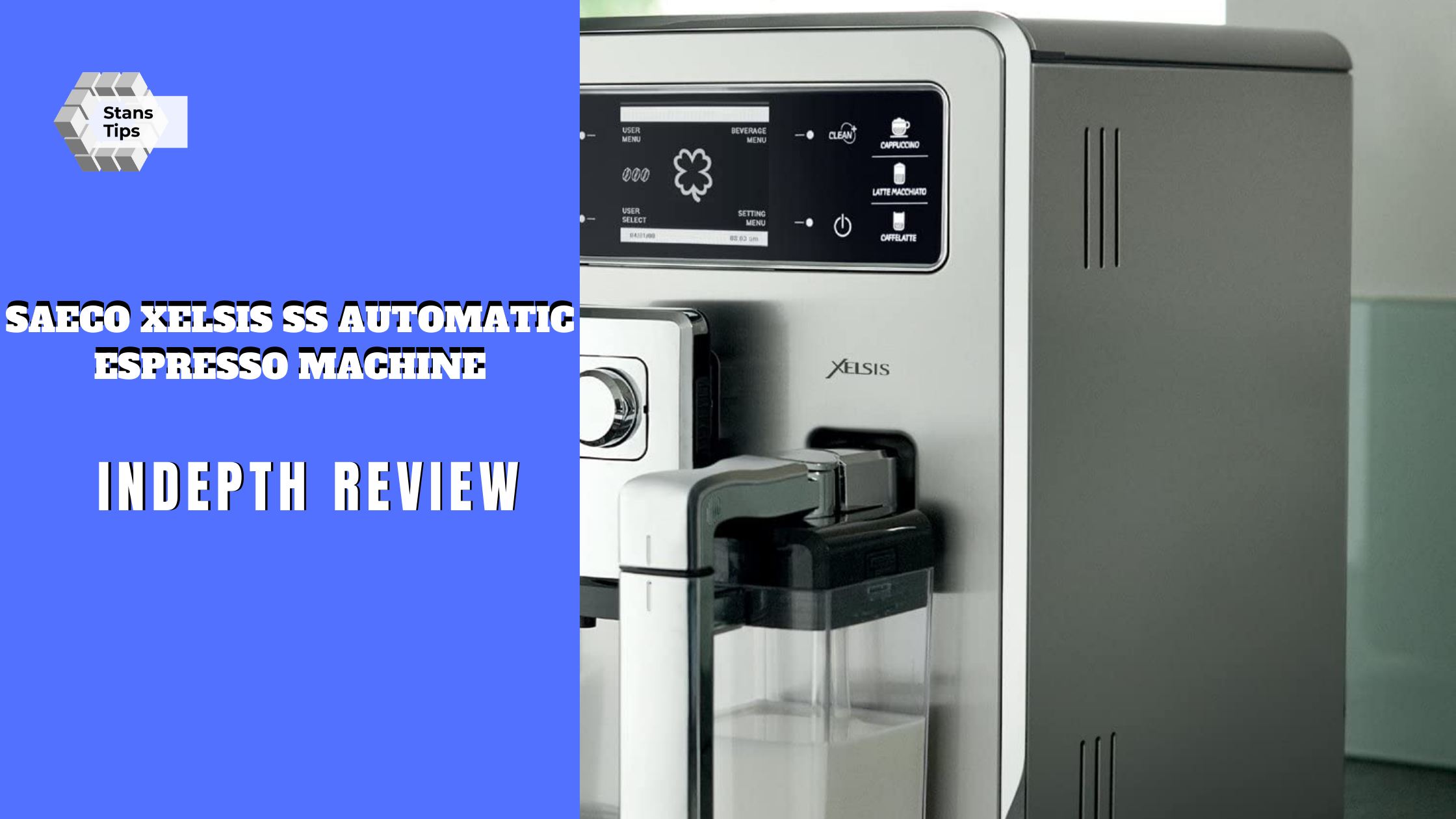 Saeco xelsis ss automatic espresso machine review