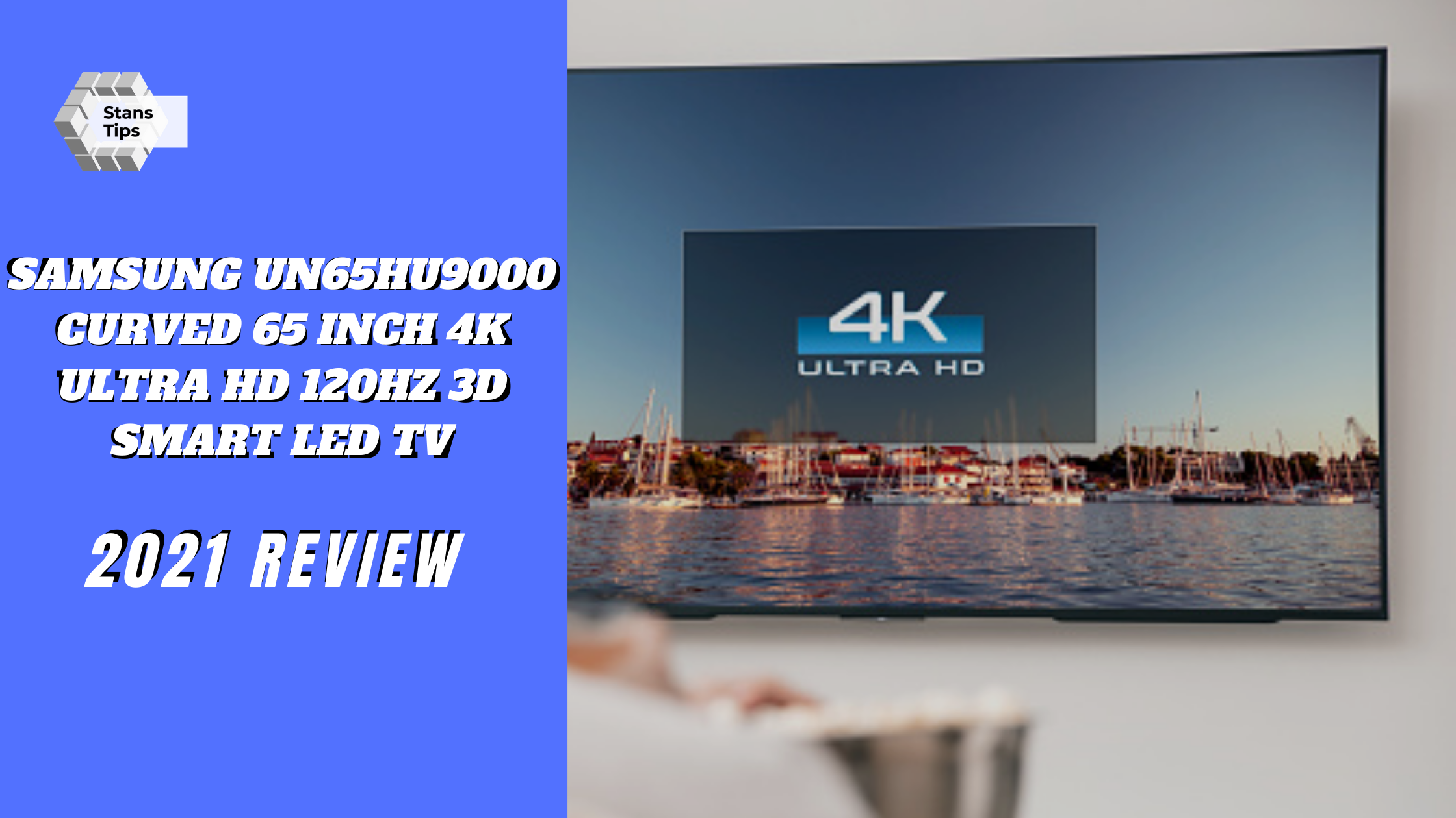 Samsung un65hu9000 curved 65 inch 4k ultra hd 120hz 3d smart led tv review