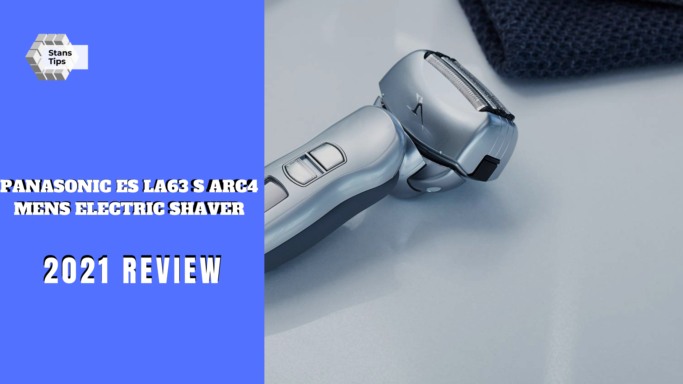Panasonic es la63 s arc4 mens electric shaver review