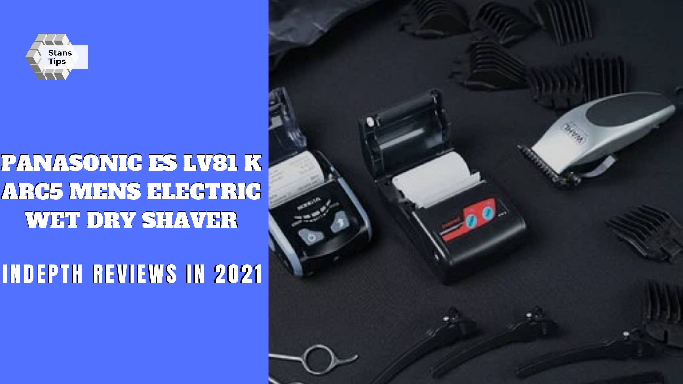 Panasonic es lv81 k arc5 mens electric wet dry shaver review