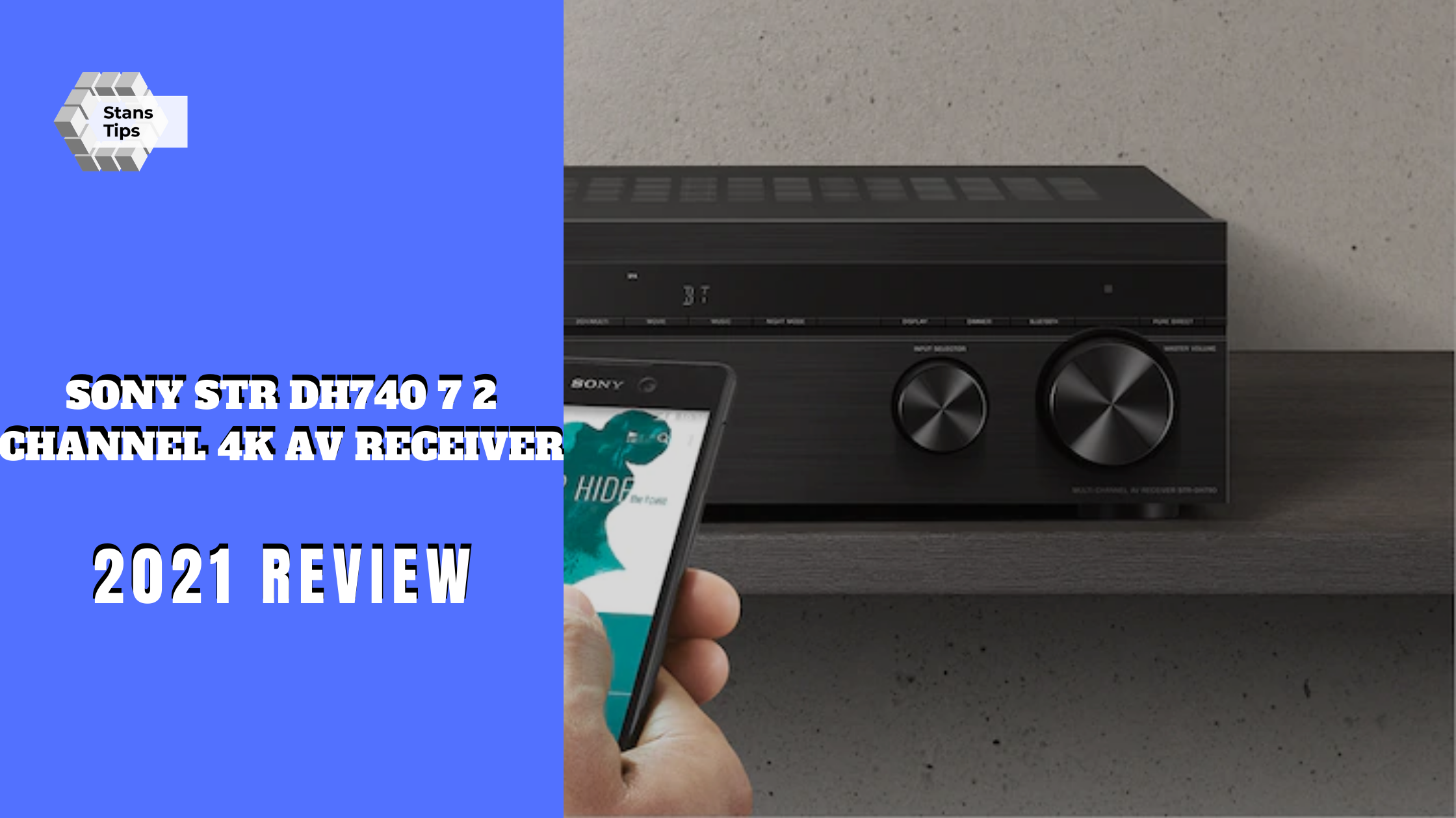 Sony str dh740 7 2 channel 4k av receiver review