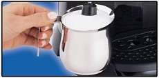 Prepare creamy froth with ease