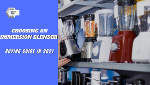 Buying guide choosing an immersion blender in 2021