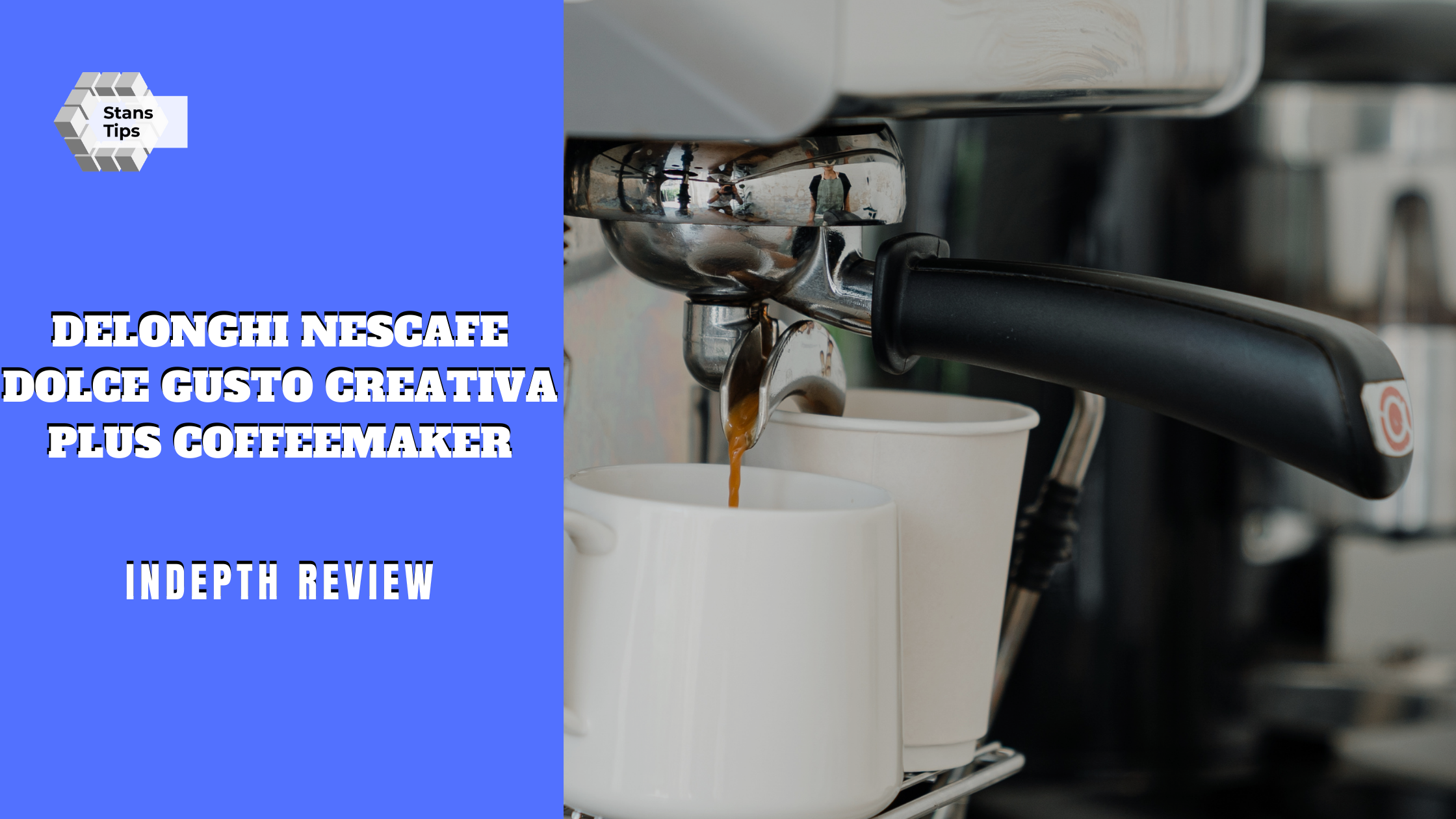 Delonghi nescafe dolce gusto creativa plus coffeemaker review