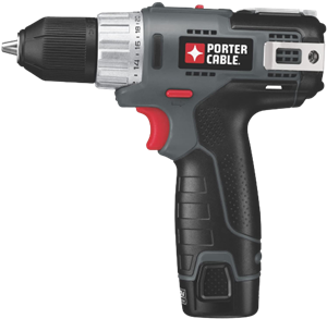 Porter cable pcl120ddc 2 12 volt max compact lithium ion 38 inch drill driver
