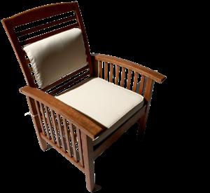 Strathwood gibranta all weather hardwood arm chair 1