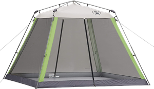 coleman instant screened shelters