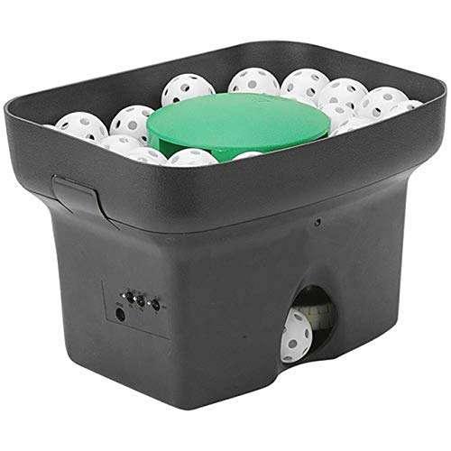 Personal Pitcher Pro Pitching Machine w/48 Small Balls (Golf Ball Size) for Baseball or Softball Tra